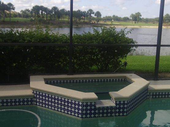 Pool Patio Repair & Repaint in Estero, FL